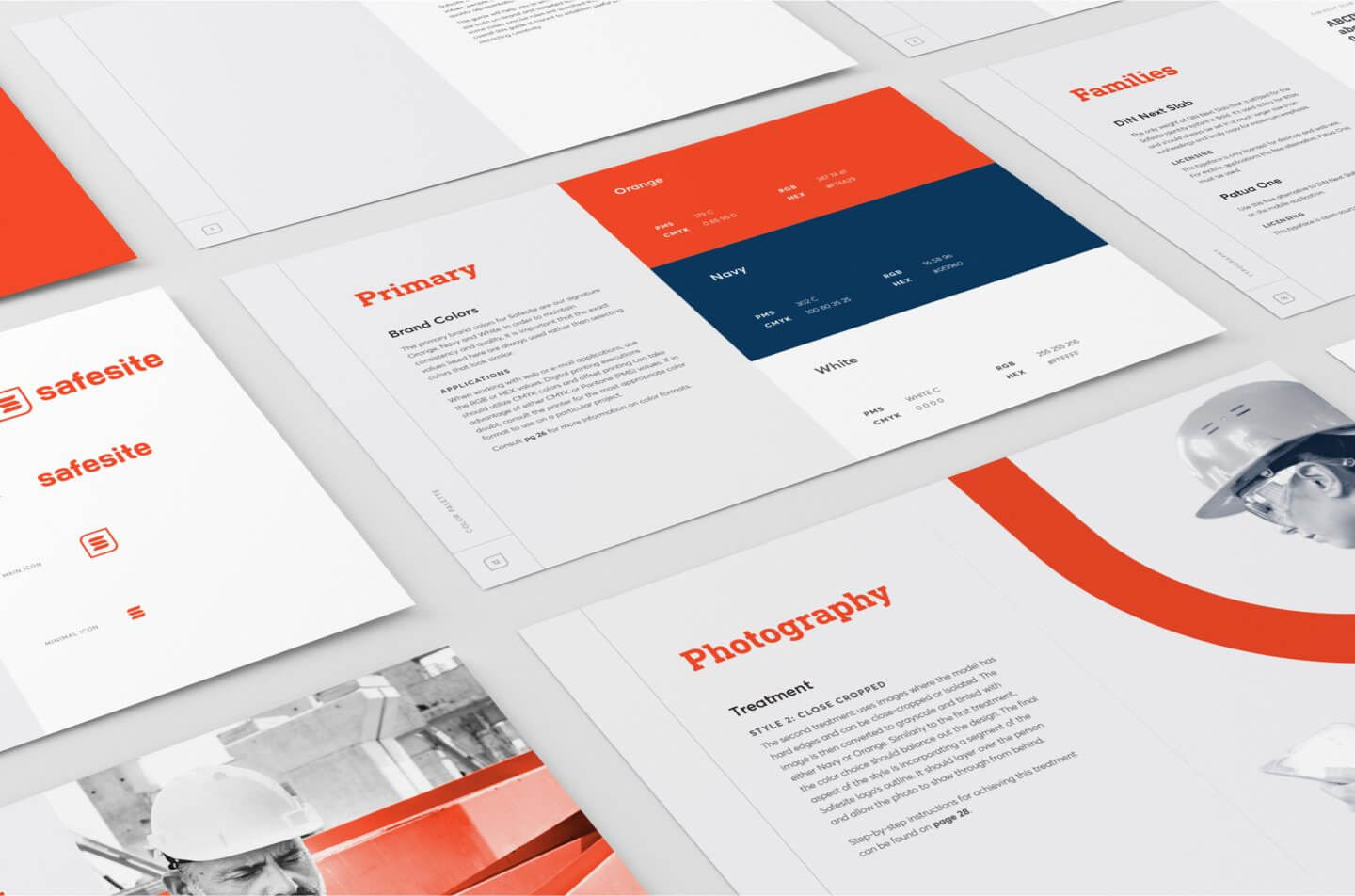 Safesite brand guidelines manual