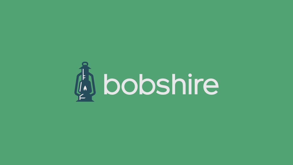 bobshire modern agency logo design