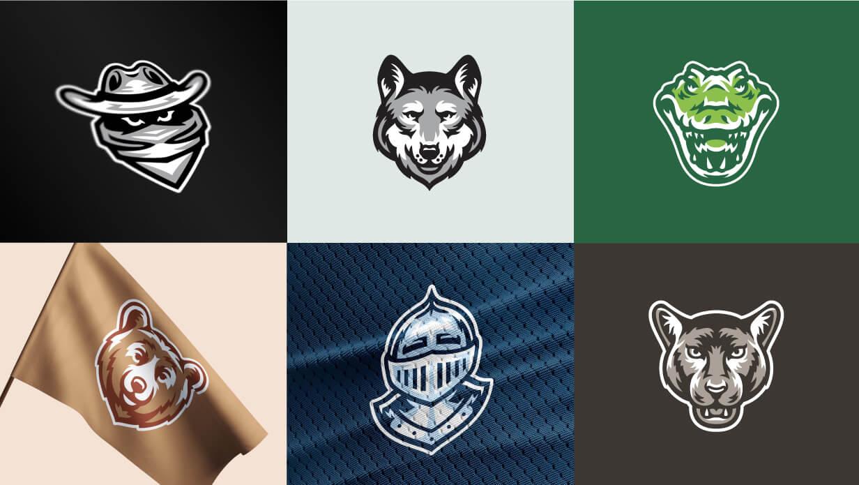 Mascot Logo illustrations